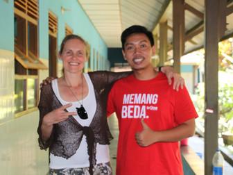 Delegation of Fracarita Netherlands visits Indonesian projects