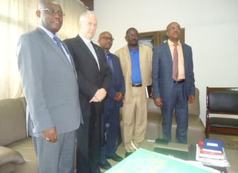 President of Fracarita International visits Ministry in Burundi