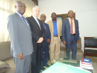 President of Fracarita International visits Ministry in Burundi