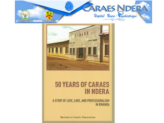 Presentation about 50 years of inspired commitment of the Brothers of Charity in Rwanda during the H