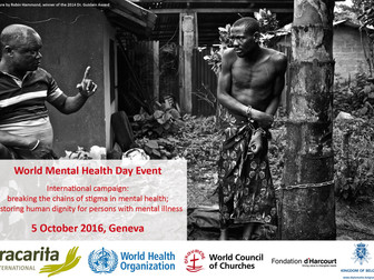 Invitation for World Mental Health Day Event in Geneva on 5 October 2016