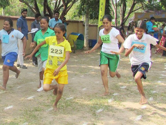Pleasant sports day for children in Ja-Ela, Sri Lanka