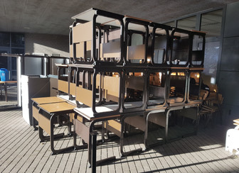 Partnership results in new furniture for Tanzanian training centre