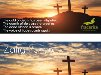 Blessed Easter| Zalig Pasen