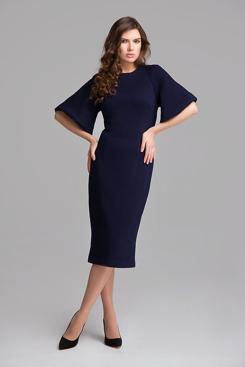 Футляр платье из шерсти