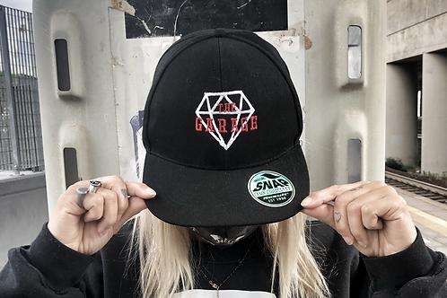 Cappello nero logo classic