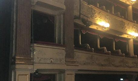 platea e room teatro