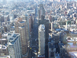 Midtown South from 54 stories up