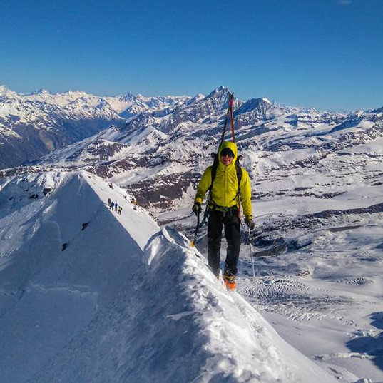 Ski Mountianeering on Castor