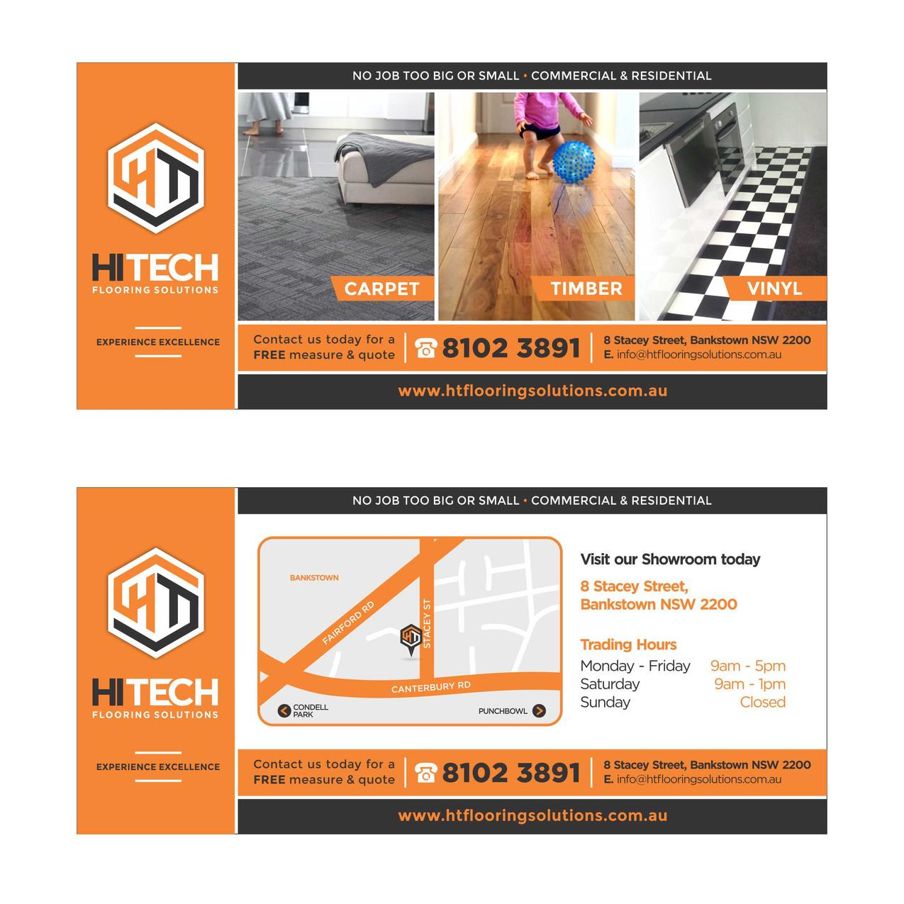 Hi Tech Flooring Solutions DL FLyer