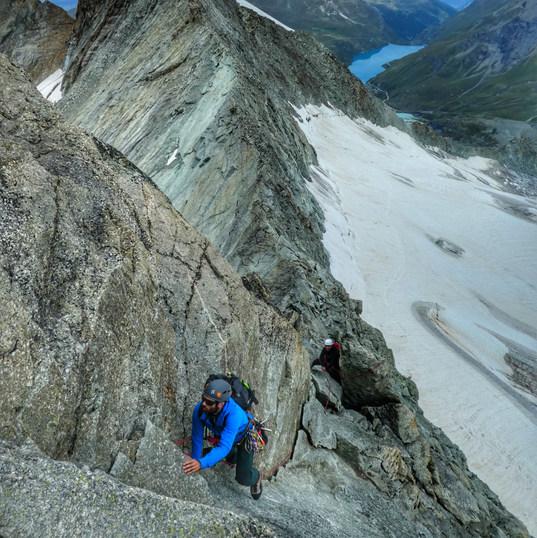 Pointes de Mourti alpine skills course