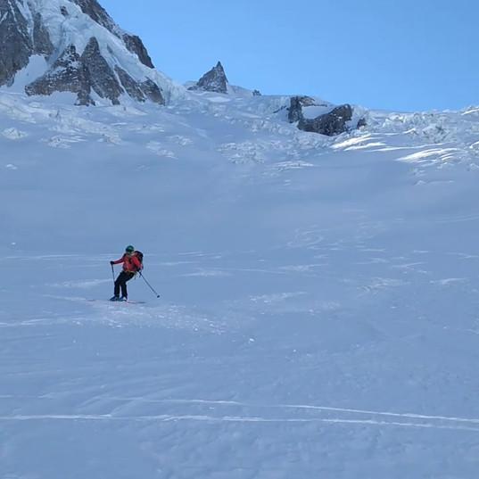 Ski Touring Breche Puiseux