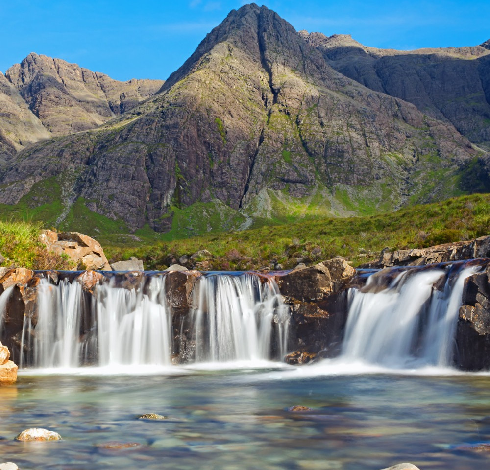 The beautiful Fairy Pools on the Isle of