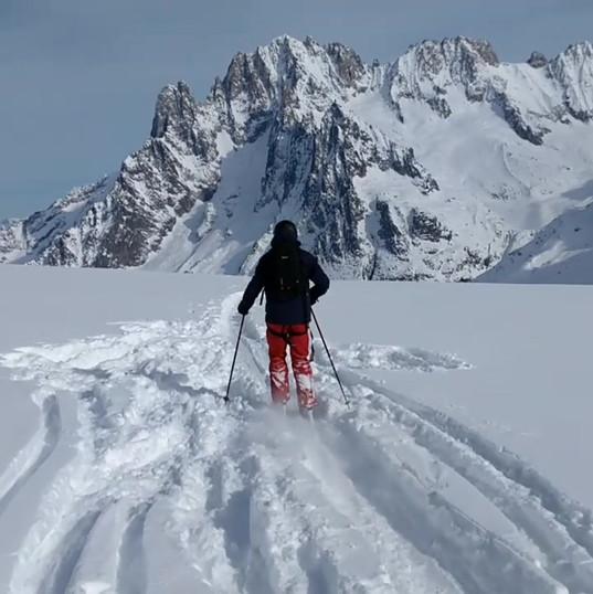 Vallee Blanche Ski