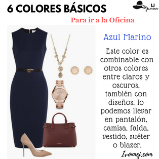 6 Colores Básicos para ir a la Oficina
