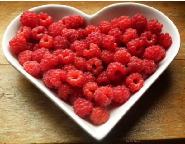 Las fresas, pertenecen a la familia de frutos rojos