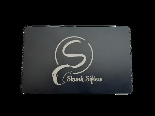 Skunk Sifters Matt Black Anodized Aluminium Sifting Card