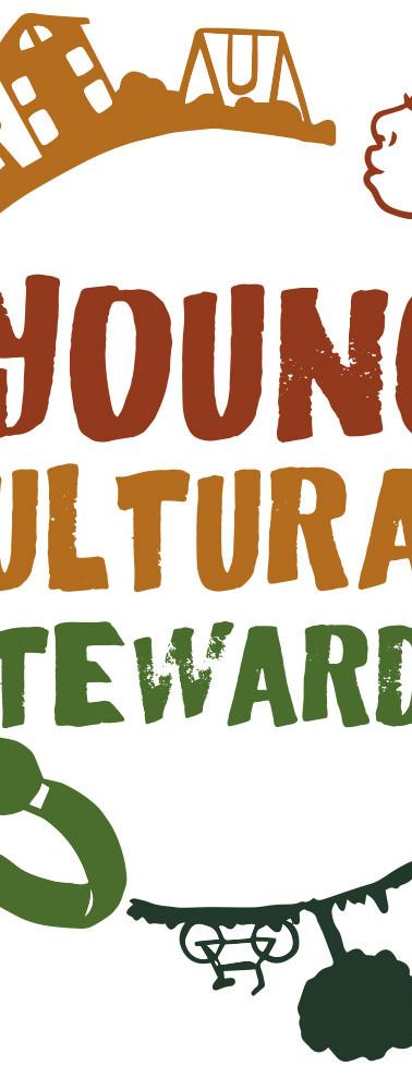 """Young Cultural Stewards"" Logo"