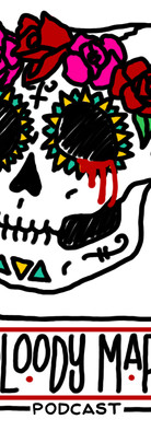 Bloody Mary Podcast Logo