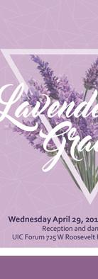 Lavender Graduation Invitation