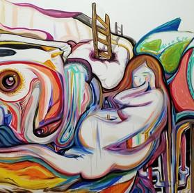 Studio mural detail