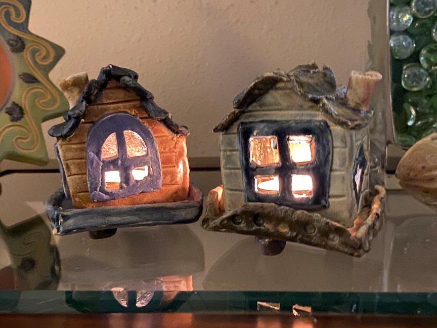 Tea Light Candle Houses