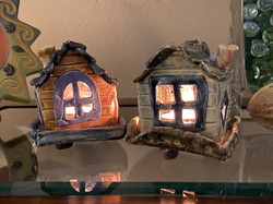 Tea Light Candle Houses