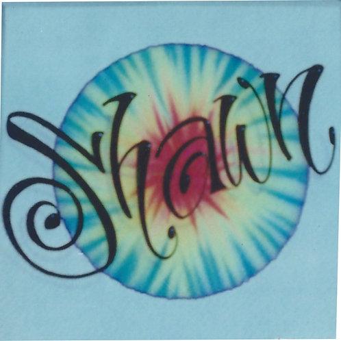 Airbrush Design Single name - A0013