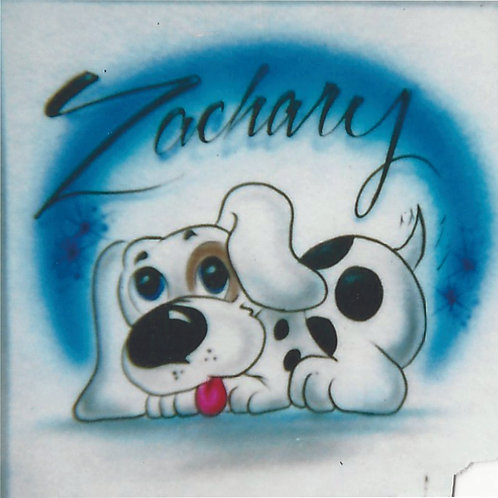 Airbrush Design Dog - A0045
