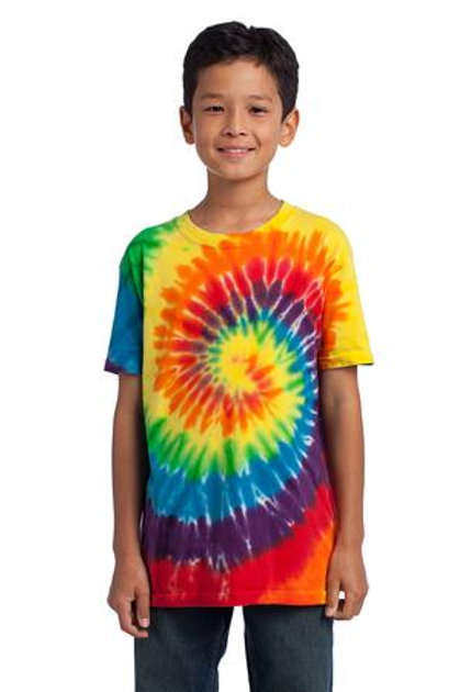 Rainbow Tie Dyed Youth T-shirt