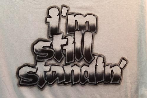 Airbrush Design - I'm Still Standing A0105