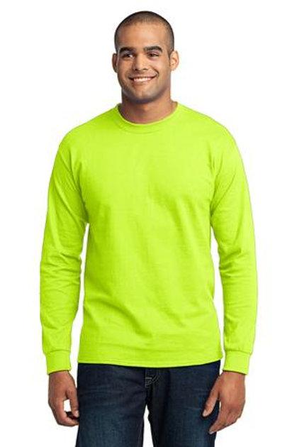 Light Color Long Sleeve Adult Tshirt