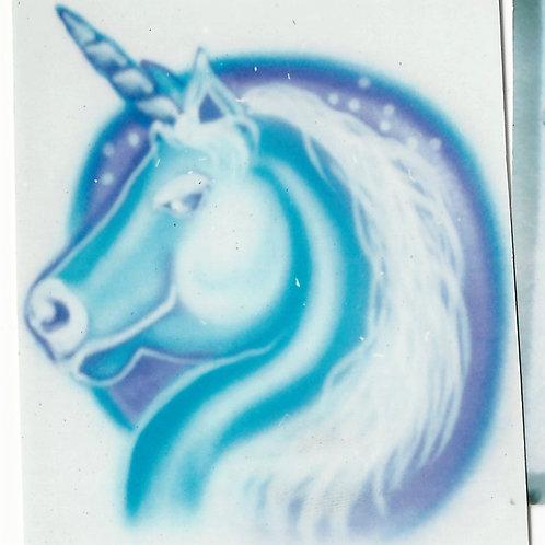 Airbrush Design Unicorn - A0097