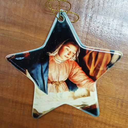 Star Christmas Ornament - CUSTOM DESIGNED