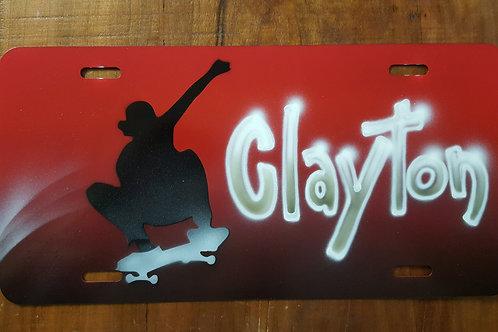 Skateboard Auto Tag - At0020