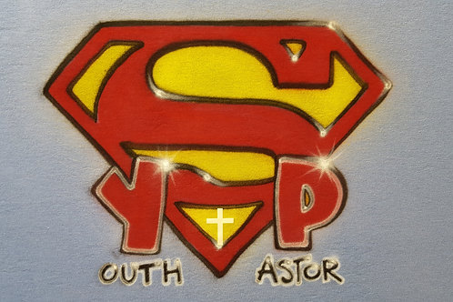 Airbrush Design Super Youth Pastor - A0117