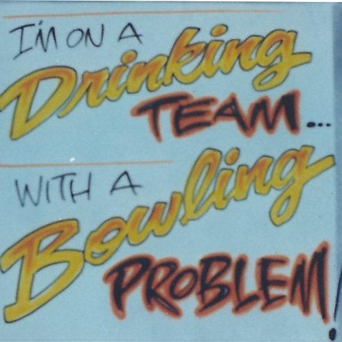 Airbrush Design Bowling Team - A0037