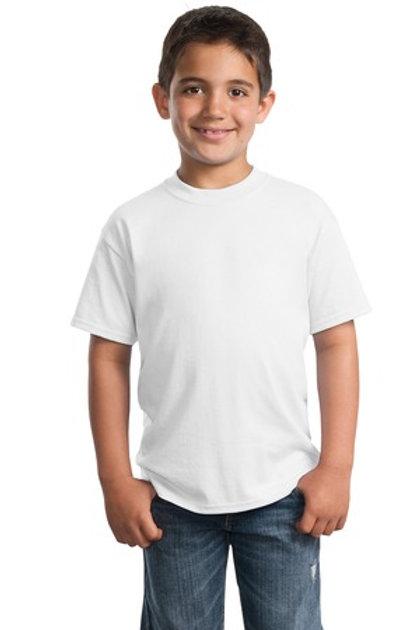 White / Light Heather Youth T-shirt
