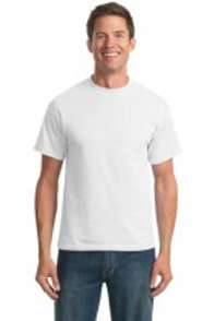 White / Light Heather Adult T-shirt