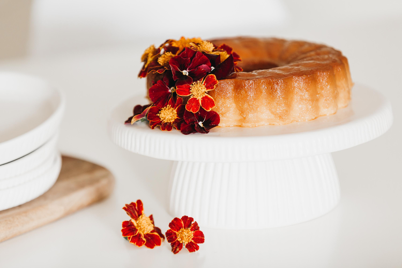 Prato de bolo