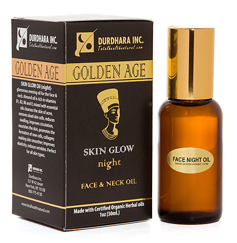 SKIN GLOW night oil for Face and Neck
