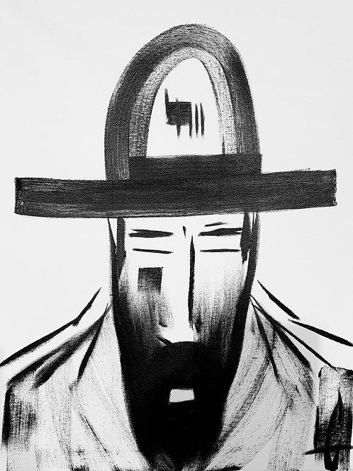 Man in Hat 525