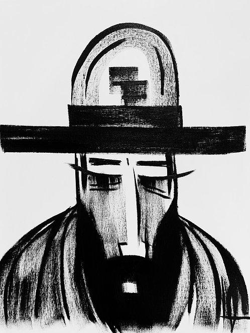 Man in Hat 520