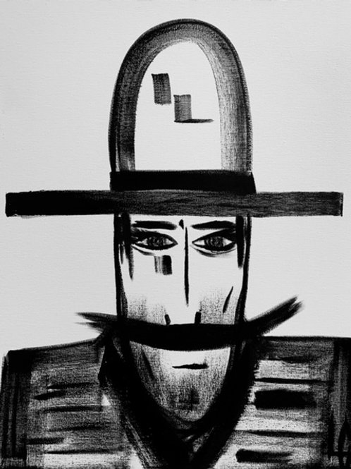 Man in Hat 535