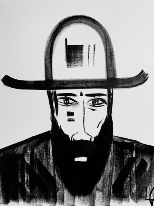 Man in Hat 534