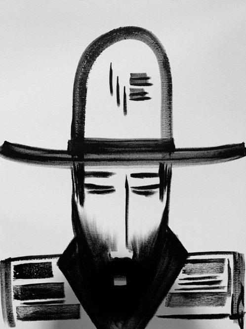 Man in Hat 538