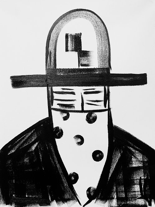 Man in Hat  527