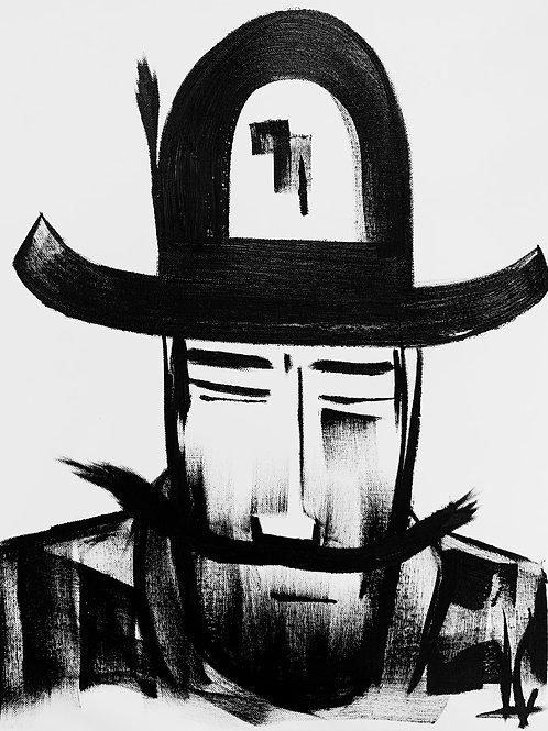Man in Hat 523