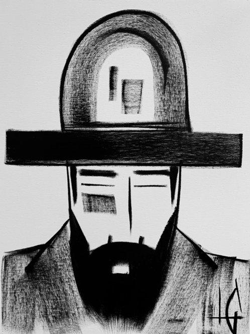 Man in Hat 541