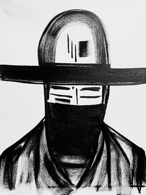 Man in Hat 518